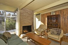 23 Best Mid-Century Modern Fireplaces images in 2013 ...