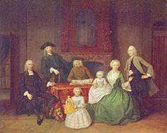 unknow artist Portrait of the Amsterdam Mennonite Brak family