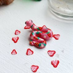 Keramik Design, Clay Art Projects, Cute Clay, Clay Animals, Polymer Clay Charms, Sculpture Clay, Diy Clay, Cute Crafts, Clay Creations