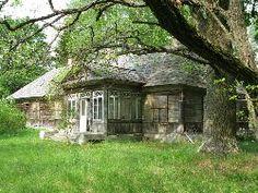 Drewniany dwór z 1801r,