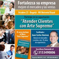 Curso sobre atención al cliente y ventas en Bogotá, Colombia. Octubre 25, 2016.