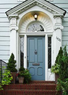Evanston front door