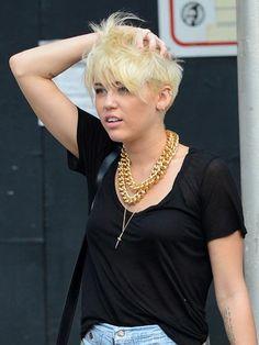 ロックなショートヘア マイリー・サイラス (Miley Cyrus)