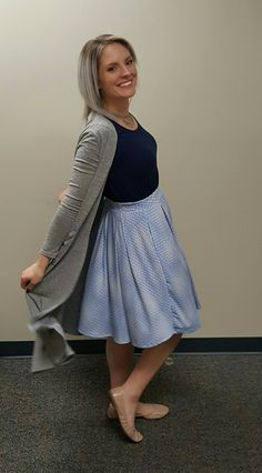 LuLaRoe Madison, Perfect Tee and Sarah make a fun, twirly, girlie outfit! <3