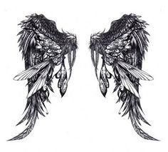 All Tattoo Idea: Angel Wings Tattoos