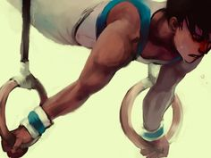 Dick Grayson/ Young Justice. Amazing art.