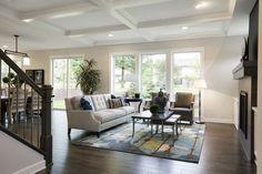 Custom Home Builders, Custom Homes, Family Rooms, Home And Family, Dream Home Builder, Ceiling Detail, Twin Cities, Luxury Homes, Living Room