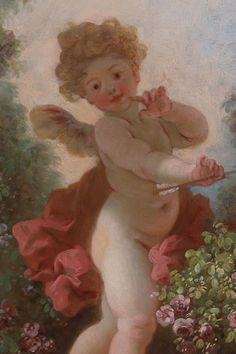 Jean-Honoré Fragonard, l'Amour en sentinelle (detail)