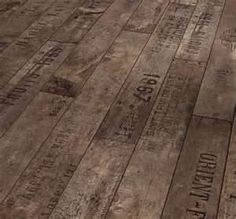 wooden pallets flooring -paint and shellac.