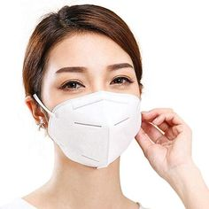 AWFAND Respirator Mask, Dust Layers Breathable Activated Carbon Filter Protective Mouth Mask for Personal Protection Sierra Leone, Different Nose Shapes, Uganda, Full Face Mask, Face Masks, Activated Carbon Filter, Hand Sanitizer, Face Shapes, Filters