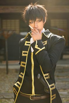Hijikata Toshiro from Gintama Cosplay || anime cosplay