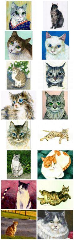 lovely treasury~ Jingfen's Cat's