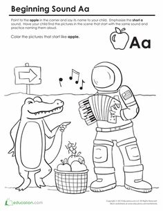 letter sounds coloring pages - photo#31