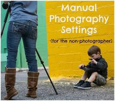 Tips and tricks on using manual settings for photraphy, geared toward the non-photographer.
