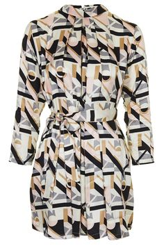 Geo Print High Neck Dress, £10 from Topshop