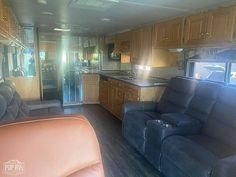 2001 Monaco Diplomat 38D, Class A - Diesel RV For Sale in La Palma, California | RVT.com - 175156 Diesel For Sale, Rv For Sale, Monaco, Queen Outfit, Cummins Diesel, Refrigerator Freezer, Blinds For Windows, Lounge Areas, Exterior Colors