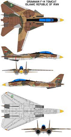 Grumman F-14 Tomcat IRIAF by bagera3005 on DeviantArt