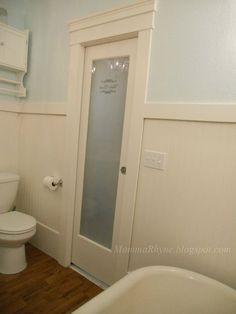 Bathroom Doors With Windows interior window over door in beach house | for the home