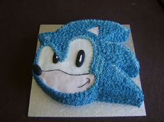 sonic cake   Sonic cake. by Scaramouche072 on deviantART