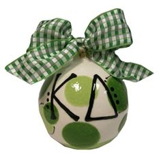 Kappa Delta Personalized Christmas Ornament
