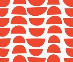 Brick Japanese Mod fabric by london_dewey on Spoonflower - custom fabric