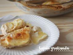 Batata Gratinada Fácil >> receita rápida e deliciosa, pra fazer ainda hoje! http://gordelicias.biz