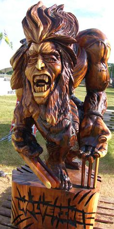 Chetwynd Chainsaw Carving Championship. #BC #Travel