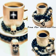 Skulls, Mugs, Tableware, Handmade, Design, Dinnerware, Hand Made, Tumbler, Dishes