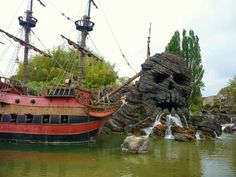 Disneyland Paris - Pirates of the Caribbean. There was a cool restaurant inside the ride.