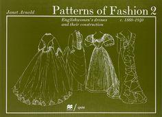 Patterns of Fashion: Amazon.de: Janet Arnold: Fremdsprachige Bücher
