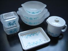 "Miniature - Re-Ment ""Pyrex"" Collection 