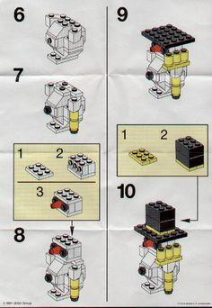 Basic - Snowman [Lego 1979]