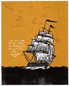 john fellows »ship at sea