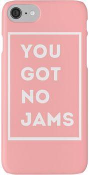 BTS/Bangtan Sonyeondan - You Got No Jams (Pink) iPhone 7 Cases