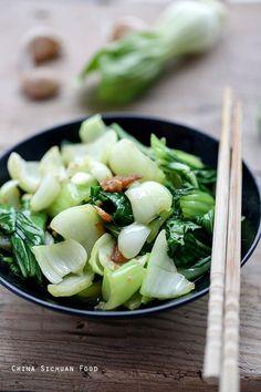 Bok Choy Stir Fry – China Sichuan Food