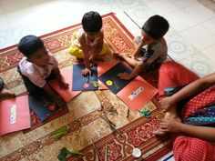Oi Playschool child's work...activities http://www.oiplayschool.com/gajularamaram-child-work.html