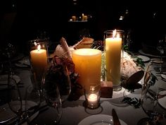 table cordinate candle