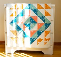 Let's begin sewing... HST Quilt 1 #HST #quilt #babyquilt
