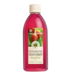 Organic Raspberry Shower Gel   Yves Rocher