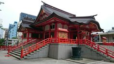 花園神社 Hanazono Shrine Shinjuku Tokyo