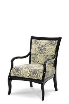 After Eight Wood Chair Grp2,Opt1 Black Onyx  19834 GRBLK 88 | Rug & Home