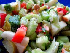 Potrawy Półgodzinne: Surówka z selera naciowego