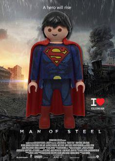 SUPERMAN, MEN OF STEEL, HOMBRE DE ACERO