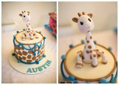 Sophie the giraffe - by Bubba's cakes @ CakesDecor.com - cake decorating website