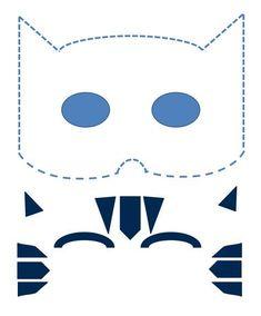 Ideas Sewing Logo Ideas Kids For 2019 Pj Masks Costume, Boy Costumes, Diy Halloween Costumes, Halloween Kids, Pjmask Party, Festa Pj Masks, Cumple Paw Patrol, Diy Masque, Mask Template