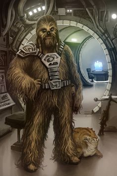 Old Wookie Chewie - Tony Warne