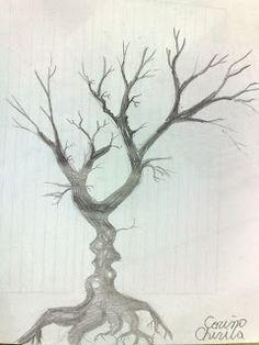 Grafica si pictura de Corina Chirila: Copacul sarutului, o pictura in acrilice pe panza pentru ziua sfantului Valentin House, Ideas, Home, Thoughts, Homes, Houses