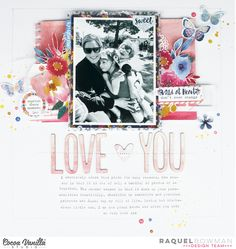 Hey everyone, I'm here today with a layout using the upcoming new release Wild at Heart. Boy, this collection is just amazing! I honestly di...