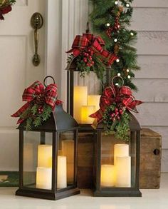 Beautiful and Totally Inspiring Christmas Porch Decoration Ideas That Can Help In Making Your. Beautiful and Totally Inspiring Christmas Porch Decoration Ideas That Can Help In Making Your Front Elegant Christmas, Christmas Home, Christmas Holidays, Christmas Crafts, Beautiful Christmas, Christmas Wedding, Christmas Porch Ideas, Christmas Presents, How To Decorate For Christmas
