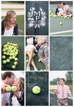 tennis engagement session, preppy, madras, copyright @Kristin Vining Photography Charlotte, NC Wedding Photographer